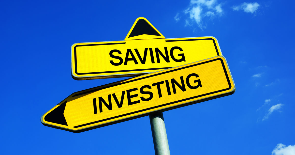 mastering the difference between savings and investing
