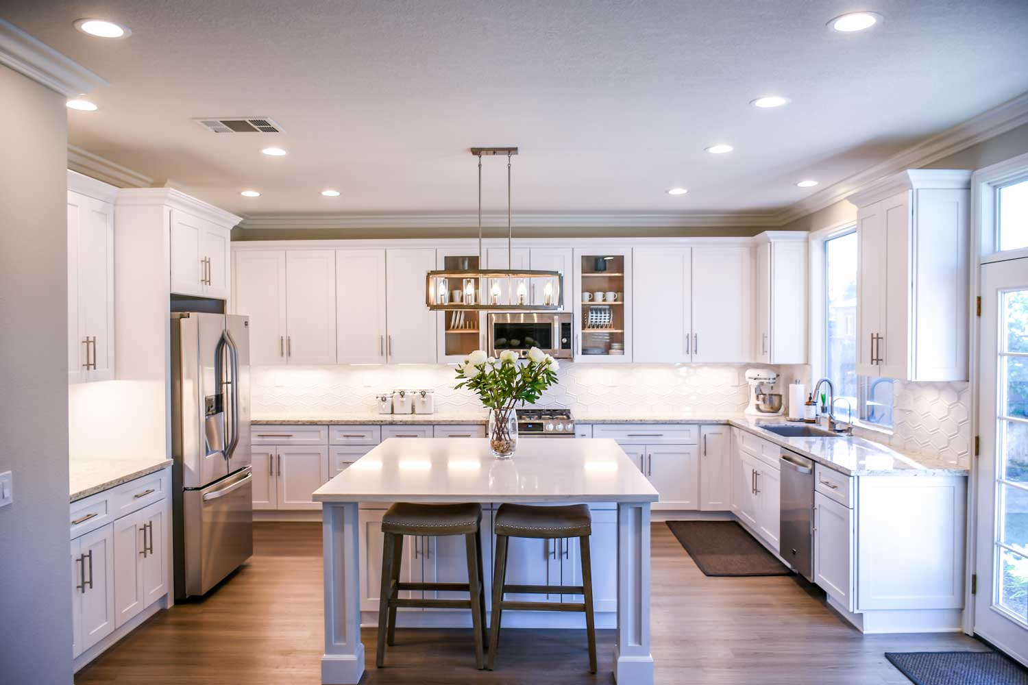 Kitchen Remodeled using Credit Union Mortgage Loan